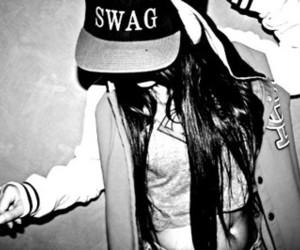 swag and girl image