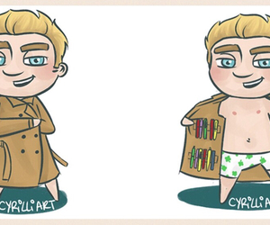 fan art, niall horan, and 1d image