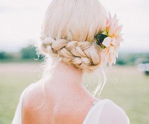 braid, hair, and pretty image