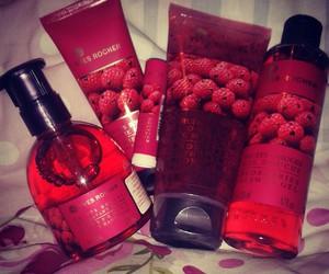 cosmetics, cream, and redberries image