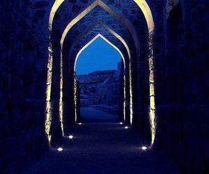 blue, light, and night image