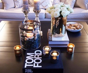 home, candle, and tom ford image