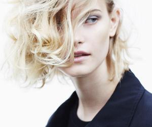 blond hair, bob haircut, and hairstyle image