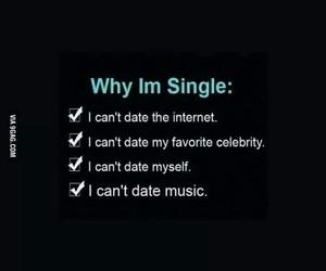 single, internet, and music image