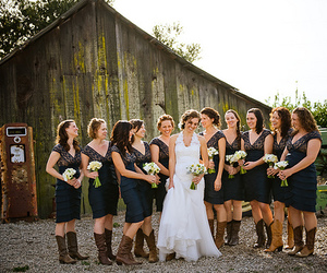 wedding and country image