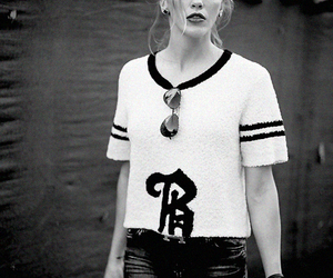 black and white, cool, and fashion image