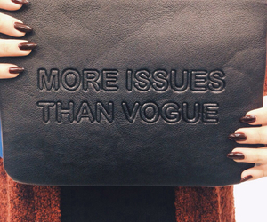 quote, vogue, and bag image