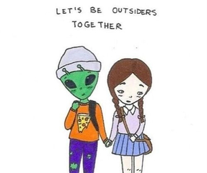 alien, love, and outsiders image