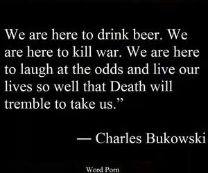charles bukowski, life, and friends image
