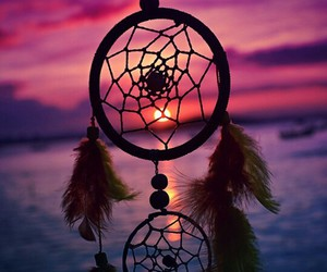 dreamcatcher, dreams, and night image