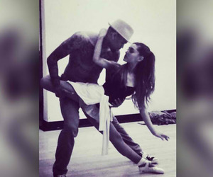 ariana grande, chris brown, and dance image