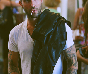 maroon 5, men, and Tattoos image