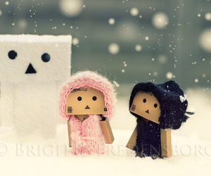 danbo and snow image