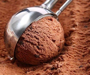 ice cream, chocolate, and food image
