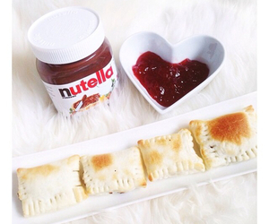 nutella, chocolate, and summer image