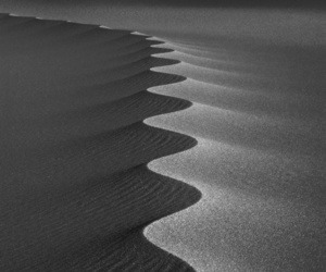black and sand image