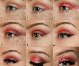 beauty, makeup tutorial, and blogger image