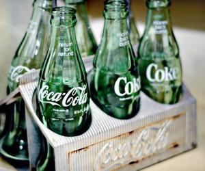 coke, coca cola, and bottle image