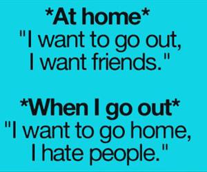 people, home, and friends image