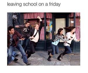 school, friday, and funny image