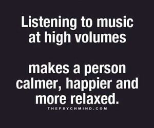 happy, music, and quote image