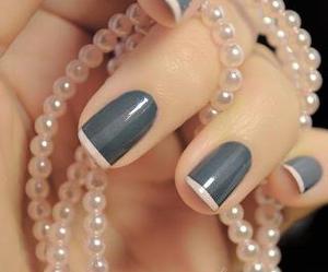 chic, fashion, and manicure image