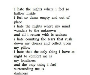 Darkness, emptiness, and feelings image