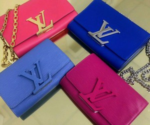 chic, Louis Vuitton, and fashion image
