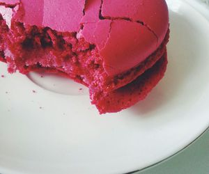 france, macaroon, and pink image