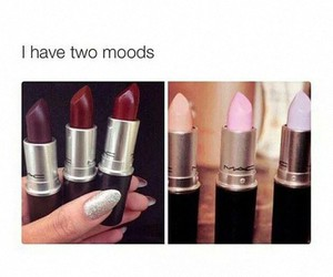 lipstick, mac, and mood image