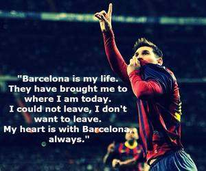 Barca, Barcelona, and football image