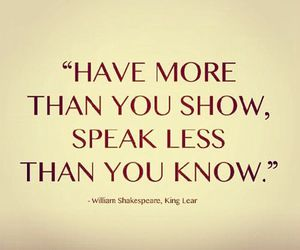 quotes, shakespeare, and truth image