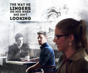 arrow, Felicity, and olicity image