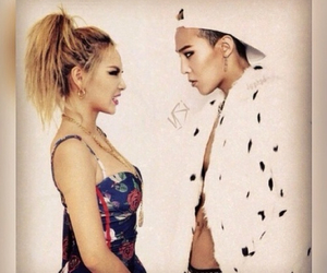 CL, g-dragon, and gd image