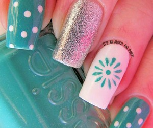 colors, nails, and decoration image