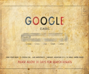 classic, google, and internet image