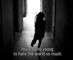 hate, young, and world image