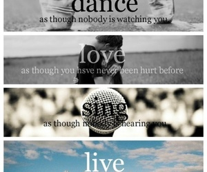 love, dance, and sing image