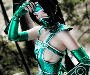 cosplay, league of legends, and akali image