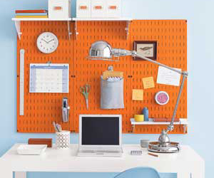 desk, office, and organization image