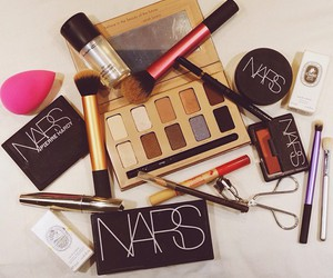 girl, makeup, and nars image