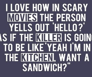 funny, kitchen, and sandwich image