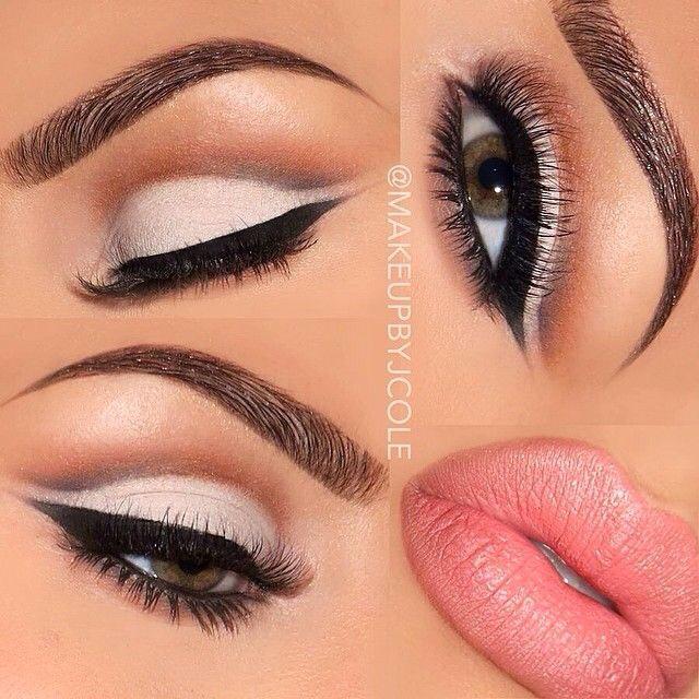 lips, makeup, and eyes image