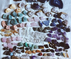 stone, grunge, and crystal image