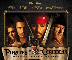 pirates of the caribbean, movie, and johnny depp image