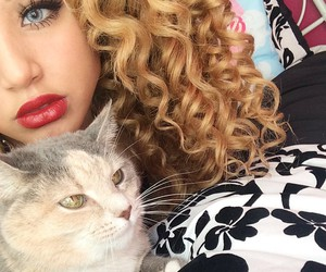 jadahdoll, blue eyes, and cat image