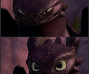 dragon, toothless, and chimuelo image