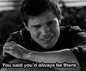 Taylor Lautner, quotes, and sad image