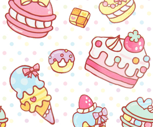 cute, cake, and sweet image