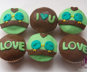 cupcakes, sweet, and cute image